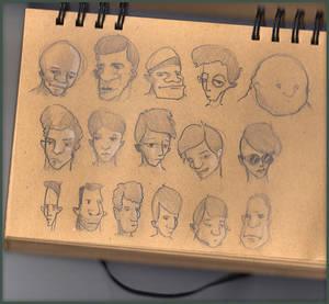 Sketch Faces