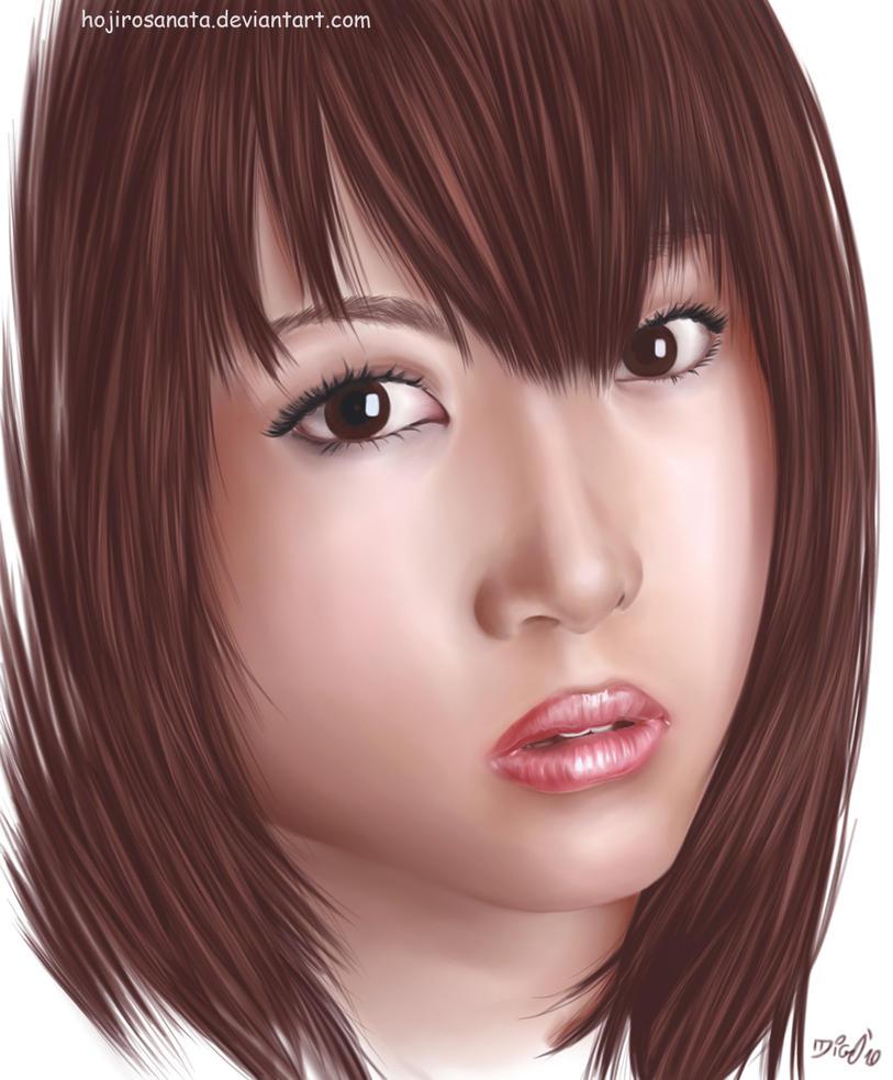 Mai Nishida by hojirosanata