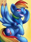 MLP Card - Rainbow Dash
