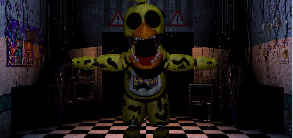 Even more withered chica fake fnaf 4 by nathano2426 on deviantart