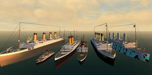 White Star Line Fleet