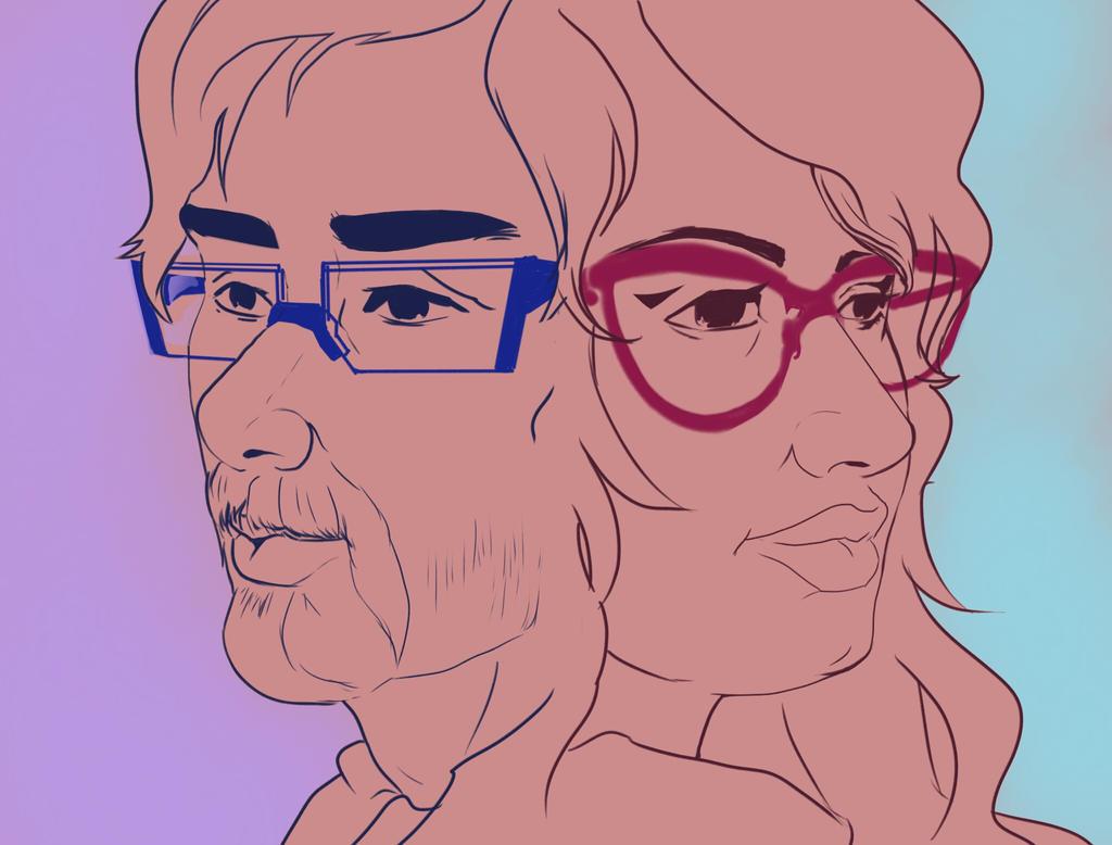 Daily Challenge, Genderbent Self portrait by esoream