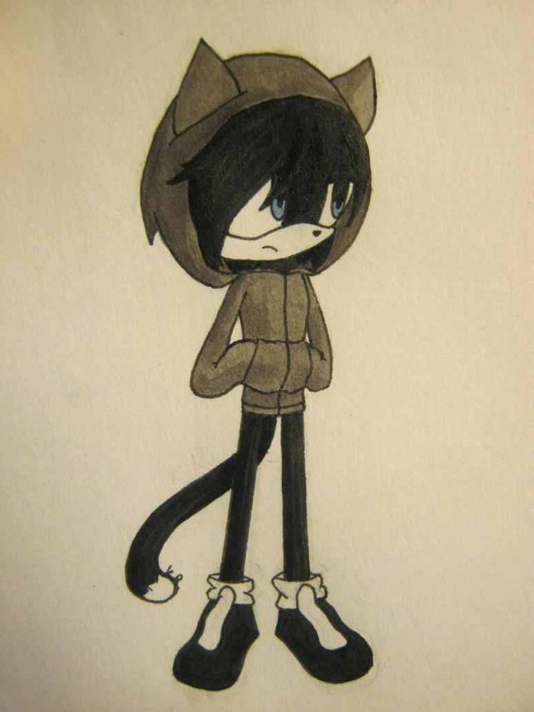 Lokki the cat by KomoriRishi