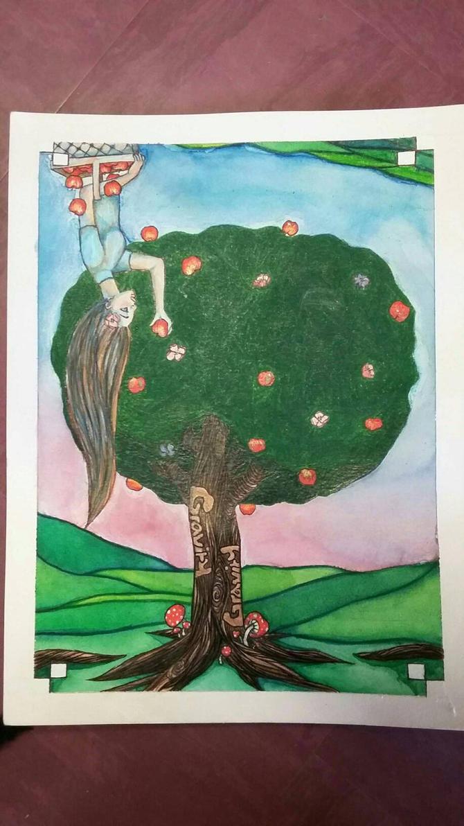 Apple tree  by sage2434