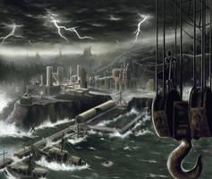 Tempest Harbor by Chimpanboy