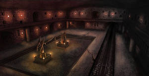 Catacombs by Chimpanboy