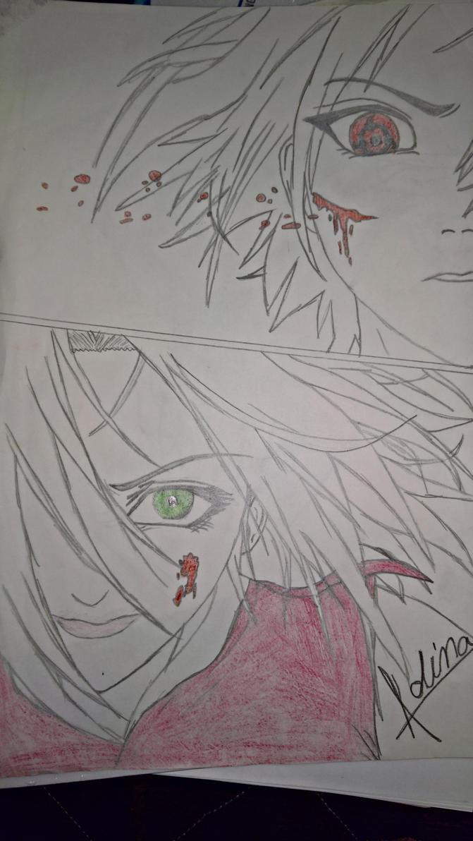 Sakura vs Sasuke by lupisoruvesel