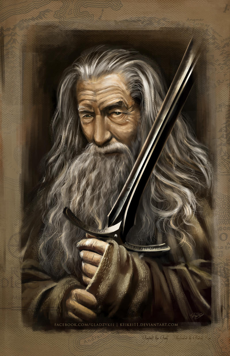 Gandalf the Grey by keikei11