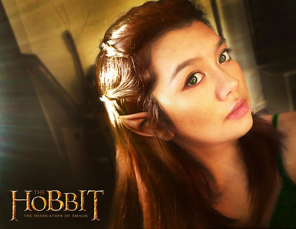Tauriel Make Up test by keikei11