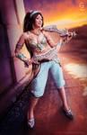 Battle Princess Jasmine Cosplay