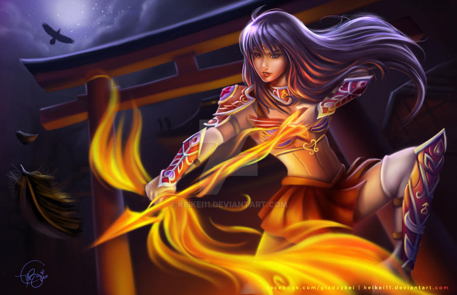 Sailor Mars - Fantasy Warrior Concept Art by keikei11 on ...
