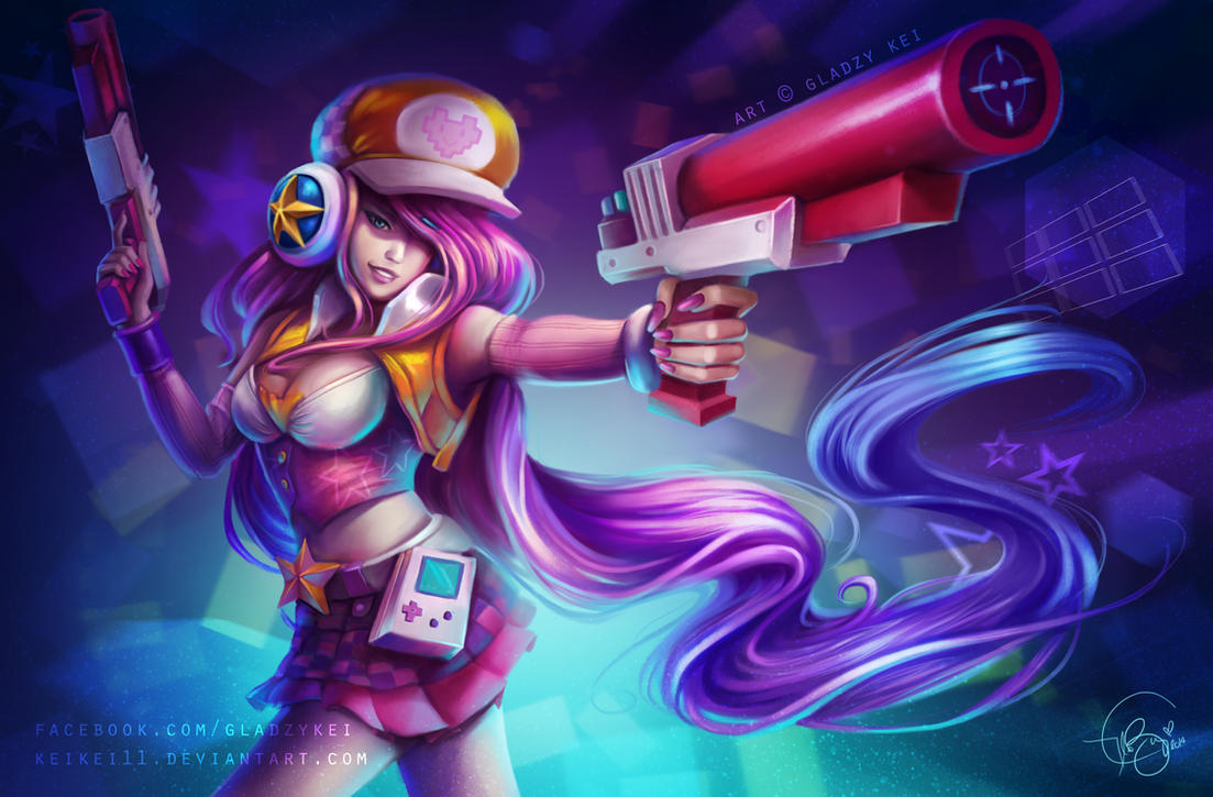 Arcade Miss Fortune by keikei11