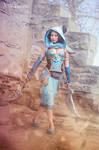 Battle Princess Jasmine 2.0 Cosplay by Gladzy