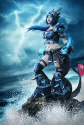 Female Toothless Cosplay (How to Train your Dragon by keikei11