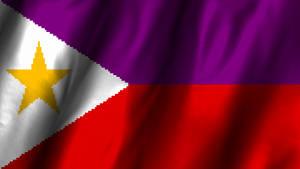 Alternative Flagge der Philippinen