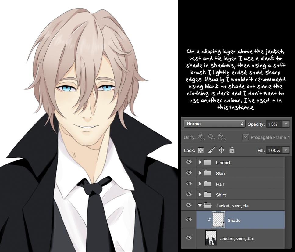 Start to Finish: Anime Male Tutorial by Avidex on DeviantArt