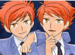 Hikaru + Kaoru - Ouran twins