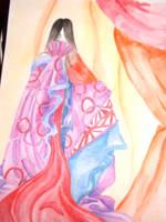 Anyar in Kimono by FloweringWolfsbane