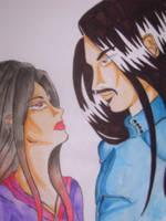 Anyar and Hideki by FloweringWolfsbane
