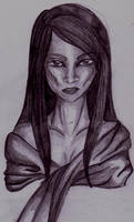 Less Clothed Aaliyah by FloweringWolfsbane