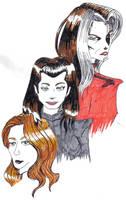 Ladies of the Imperium by FloweringWolfsbane