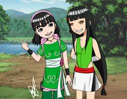HBD Konsu: Lee sisters by MajoRaccoon