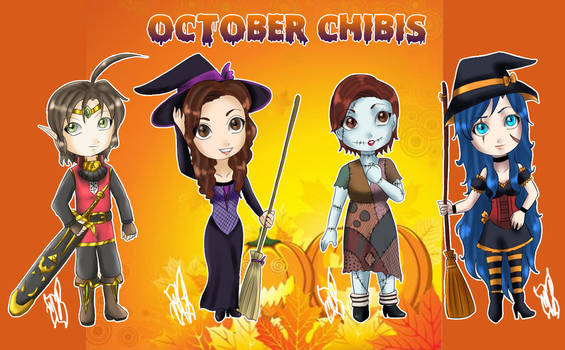 October Chibis