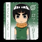 Rock Lee by lila-flower by MajoRaccoon