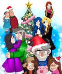 Happy Holidays from Gravity Falls