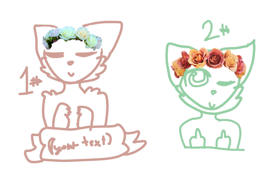 Cheap flower crown ych by bubbly brownies on deviantart cheap flower crown ych by bubbly brownies izmirmasajfo