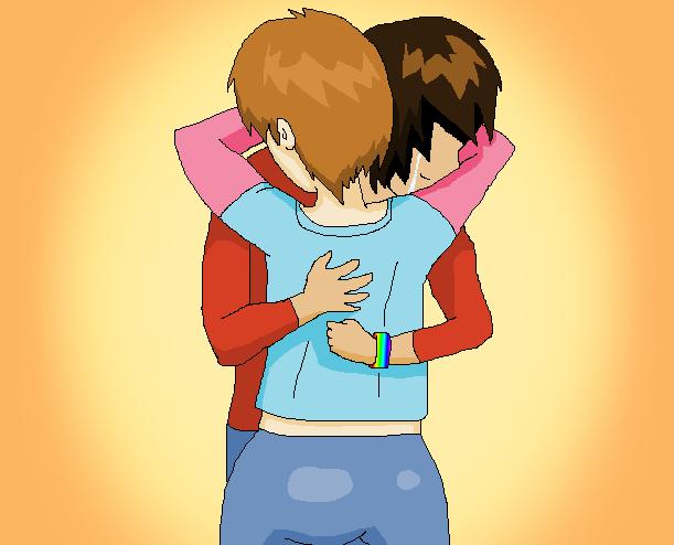 In a world of love and hate, love wins! by Reicheru-Ketsueki