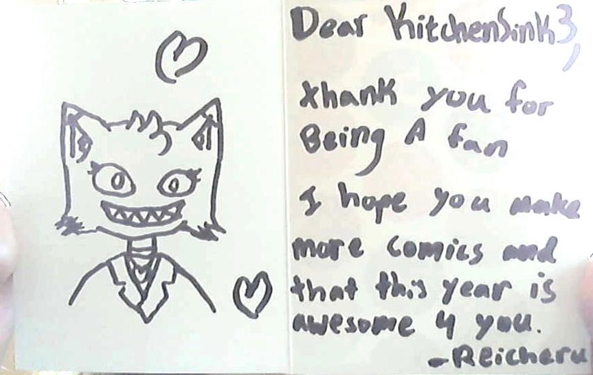 Fan gift for KitchenSink3!! by Reicheru-Ketsueki