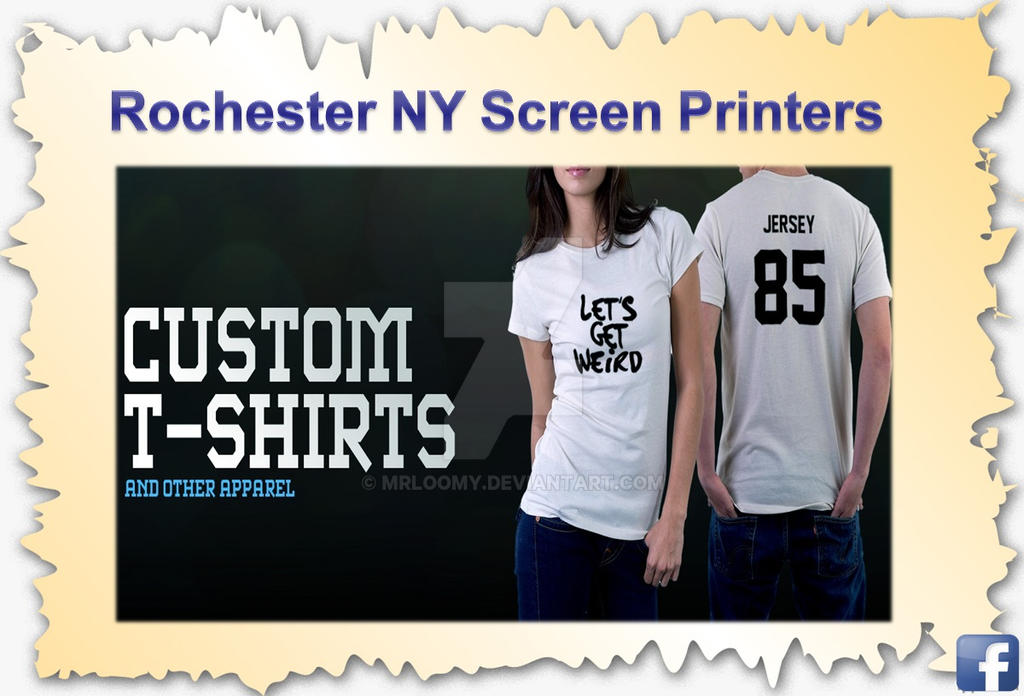 silk screening custom t shirts rochester ny by mrloomy