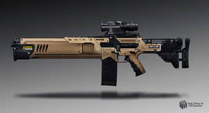 Wolfwood Assault Rifle by timur-kvasov