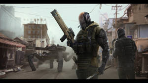Slum Patrol by timur-kvasov