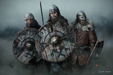 Life is Feudal - Shieldmen by timur-kvasov