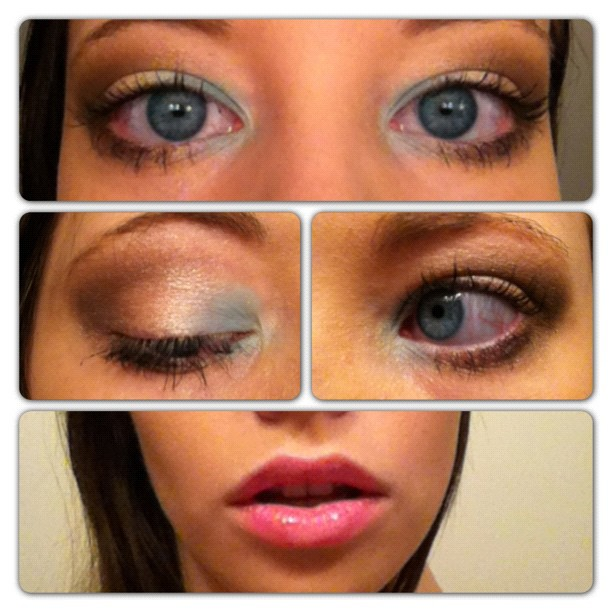 Makeup: Eye Shadow: Clouds by allikayyyy