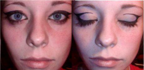 Eyeliner design, Crease by allikayyyy