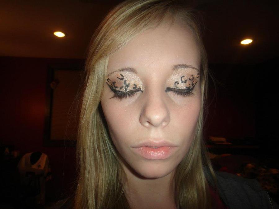 Cheetah Eyeshadow by allikayyyy