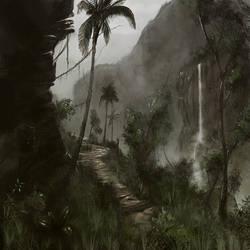 Tropical Canyon by LJFHutch