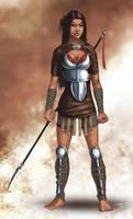 Spear Woman Concept