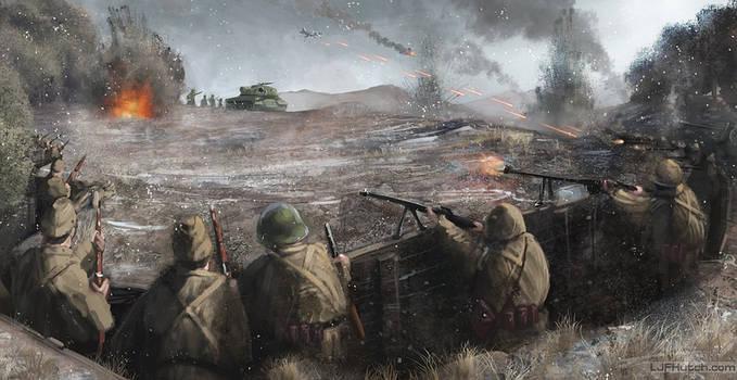 Soviet Defences by LJFHutch
