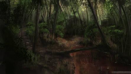 Forest Stream Speed