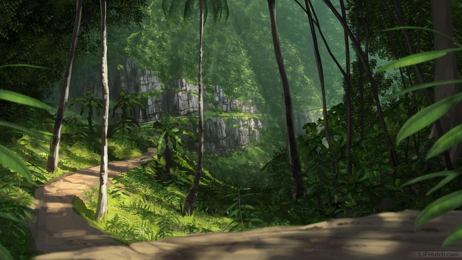 Jungle Path by LJFHutch on DeviantArt