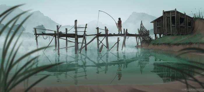 Lake (tutorial image)