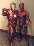 Spidey and Iron Man