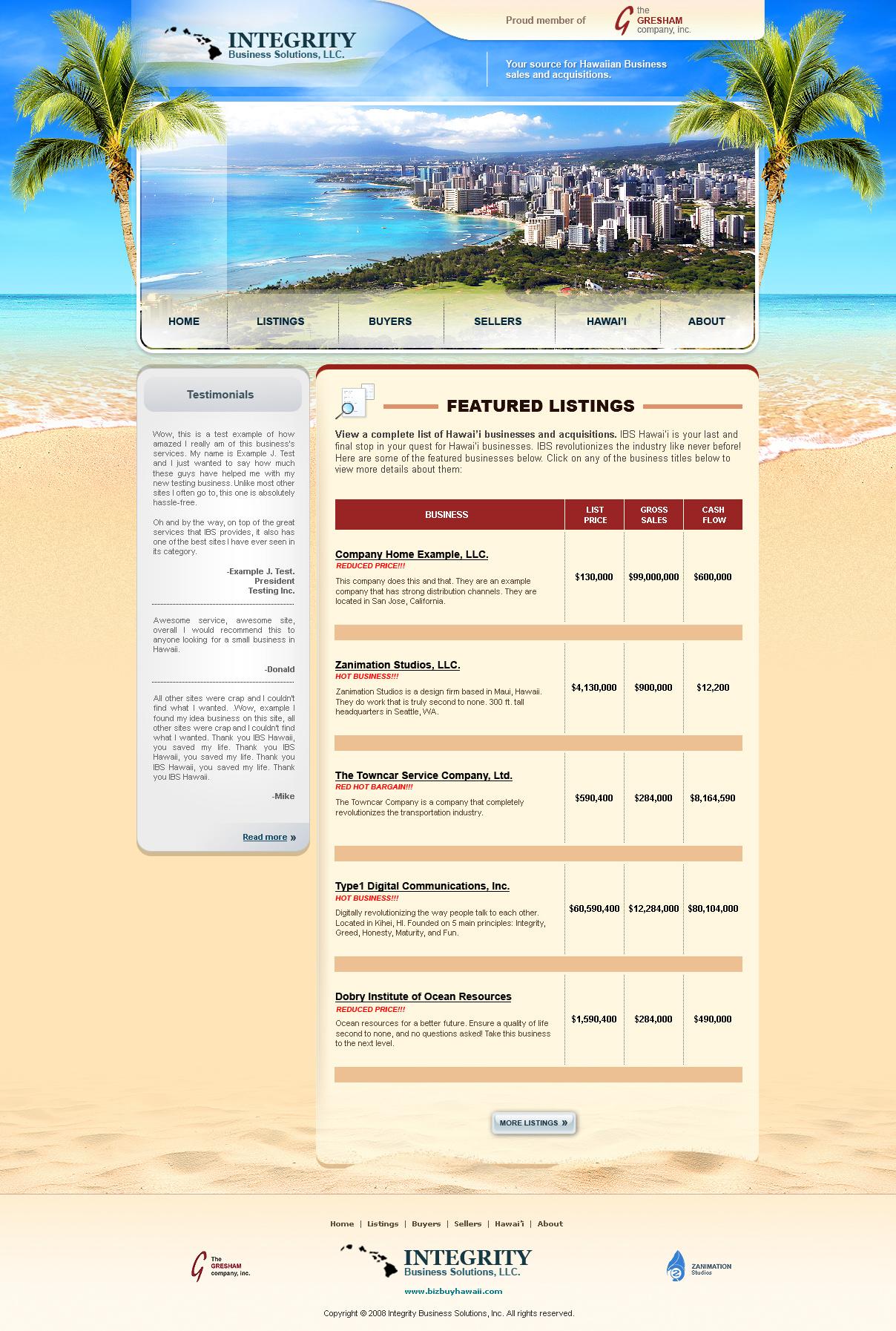 IBS Hawaii by z-design