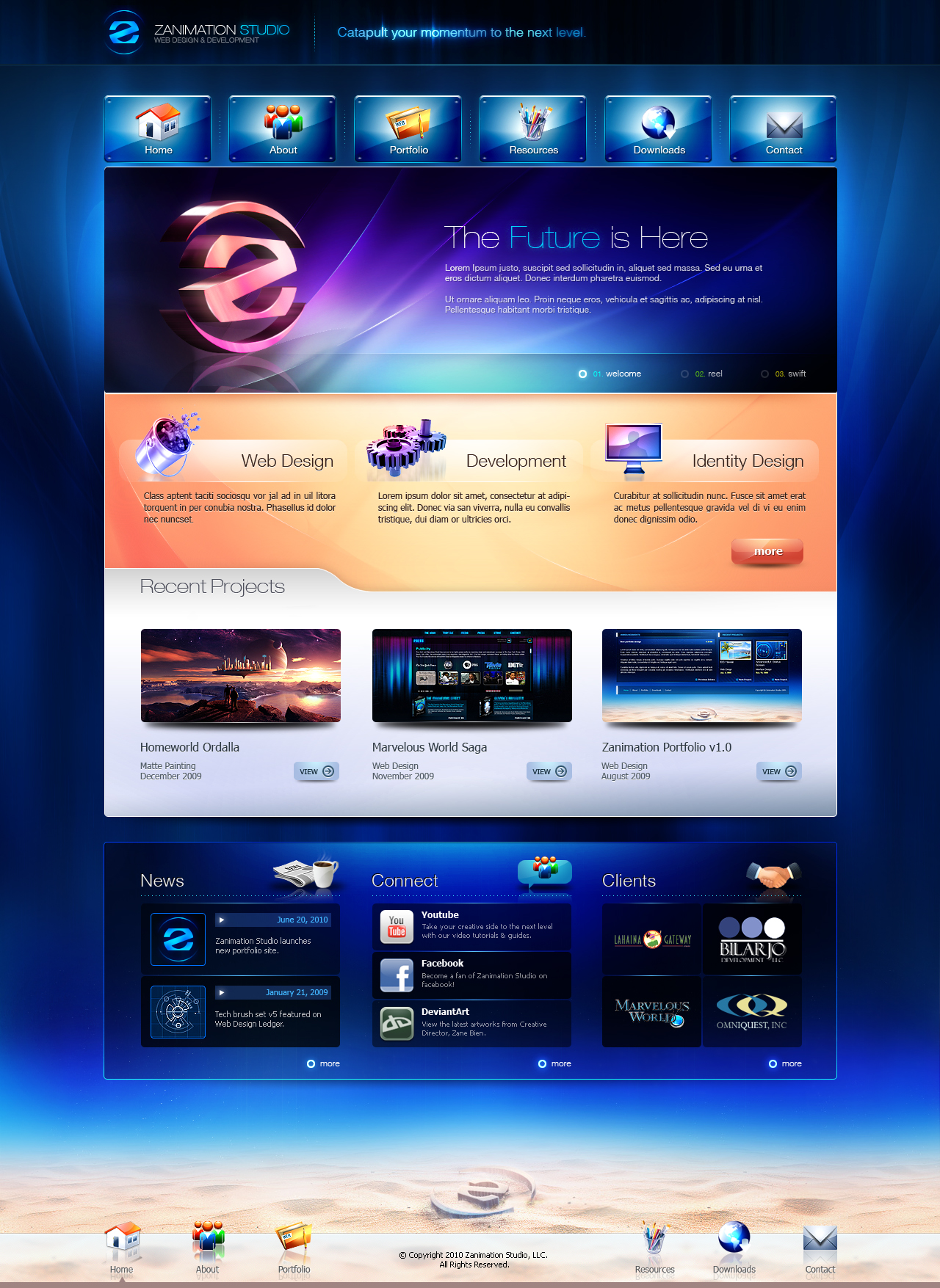Zanimation Portfolio 2010 by z-design
