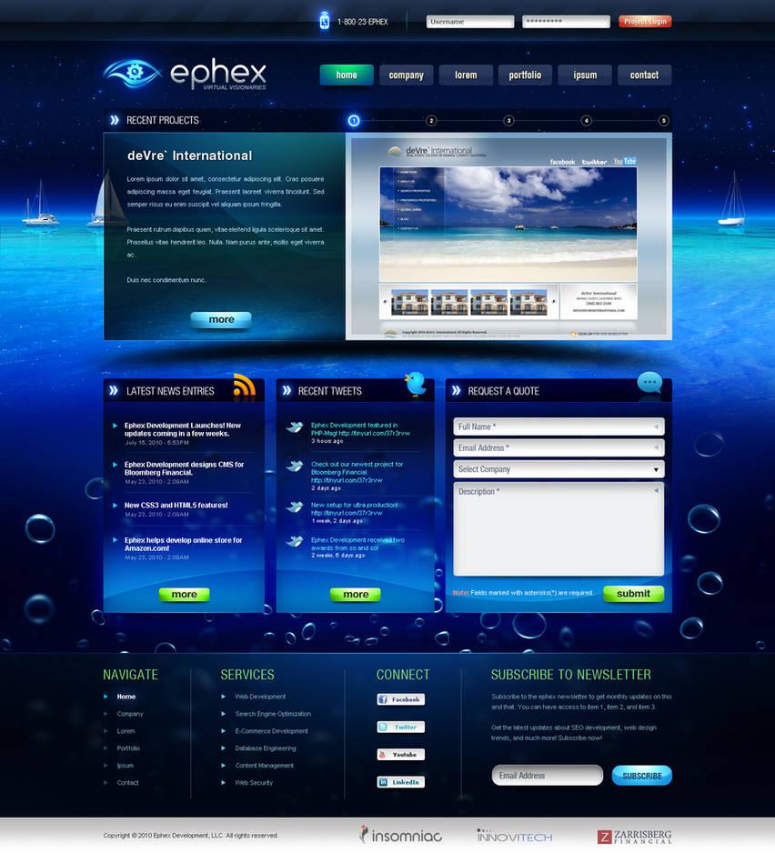 Ephex web-development