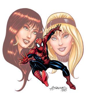 Spider-Man /Mary Jane-Gwen